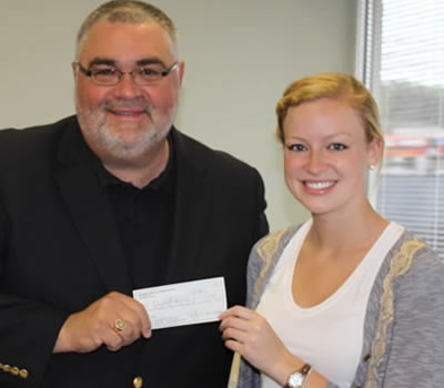 2012 Melick Foundation Scholarship Winner: Elizabeth Hamel